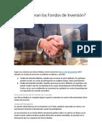 Cómo Operan Los Fondos de Inversión en El Salvador (Parte 1) por Luis Alonso Medina