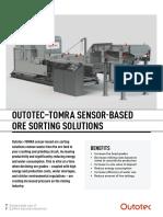 Ote Outotec Tomra Sensor-based Ore Sorting