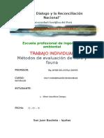 Metodos de Evaluación de Flora y Fauna