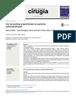 Packing Peritoneal en Politrauma
