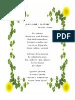 Poezie a-nflorit o Păpădie