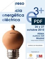 E3+ Eficiencia Energética Eléctrica - Congreso 2010
