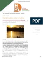 Con El Cuerpo y Con El Alma _ Revista Dínamo