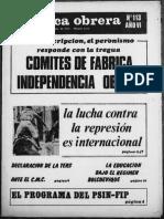 Política Obrera no. 113