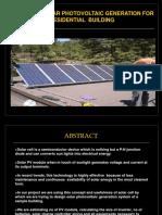 pptondesignofsolarphotovoltaicgenerationforresidentialbuilding-130621044646-phpapp01