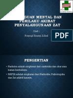 Promkes Gangguan Mental dan Perilaku akibat Zat