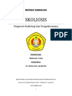 Referat Radiologi - Skoliosis
