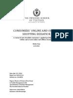 4_Masteruppsats_Consumers Online and Offline Shopping Behaviour_MelikeUzan