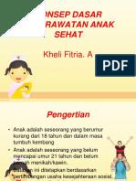 Askep Pada Anak Sehat 1