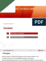 PrachFreqAdjSwitch - Trial Report