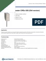 Hazardous Area Heater Crex 020 Old Version 2721512-544292