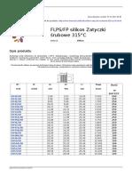 Flpsfp Silikon Zatyczki Srubowe 315c