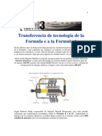 -Transferencia de Tecnología de La Formula e a La Formula 1