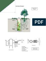 Gambar Teknis Biopori Dan Sumur Resapan