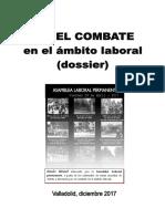 """Dossier """"por el combate en el ámbito laboral"""""""