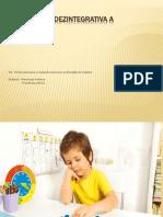 Tulburarea Dezintegrativa a Copilariei