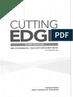 Cutting Edge PRE-InT [3rd Ed] - Teachers Book