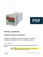 RWF50 Technical Literature