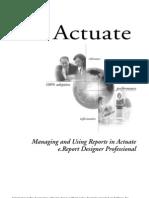 Managing Reports Designer Pro