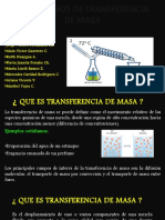 Mecanismos de Transferencia de Masa Power Point Grupo 5