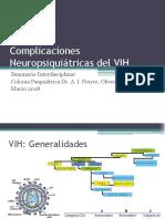 Complicaciones Neuropsiquiátricas Del VIH Final
