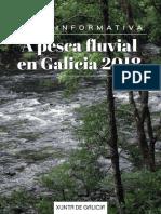 La pesca fluvial  en Galicia 2018