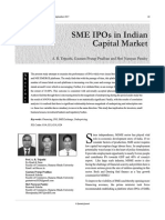 SME IPO in Indian Capital Market