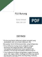 Flu Burung Print