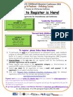 BC Conference Registration Flyer