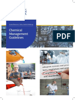Chemical Management Guidelines