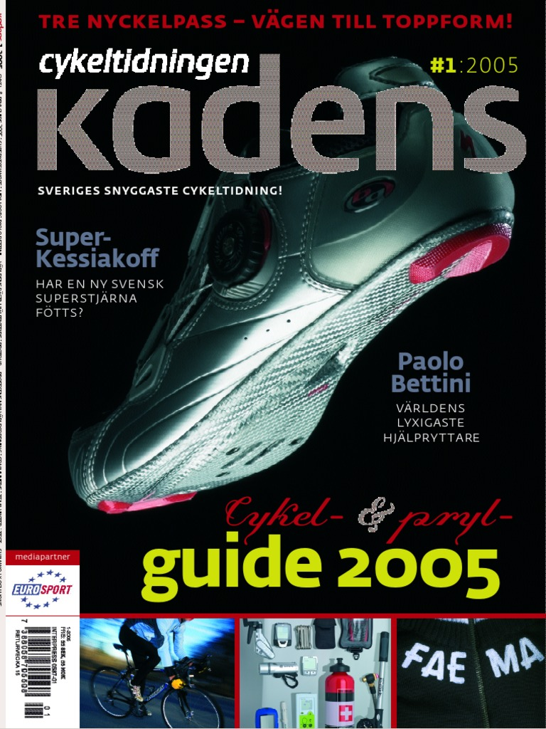 sports shoes d7229 336c2 Cykeltidningen Kadens   1, 2005