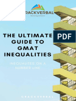 Inequalites on a Number Line-GMAT