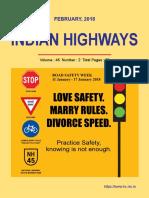 IRC Indian Highways Feb 2018