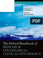 (Oxford Library of Psychology) Jonathan S. Comer, Philip C. Kendall-The Oxford Handbook of Research Strategies for Clinical Psychology-Oxford University Press (2013).pdf