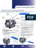 Forged Floating Ball Valves