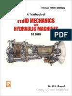 R.K. Bansal - A Textbook of Fluid Mechanics and Hydraulic Machines 9th Revised Edition SI Units (Chp.1-11) (2010, Laxmi Publications).pdf