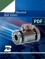 Trunnion Mounted Ball Valves TMBV