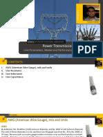 Transmission Line Modelling