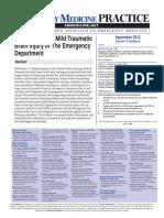 Emergency Medicine Practice MTBI article with CME.pdf