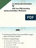 7 Peranan Guru Dalam Merealisasikan FPK Dan FPG