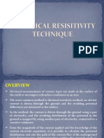 Electrical Resisitivity Technique