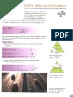 Igcse Physics (2) - Speed, Velocity and Acceleration