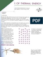 Igcse Physics (10) - Transfer of Thermal Energy
