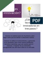 ¿Qué es innovación