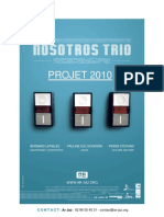 Présentation Nosotros Trio
