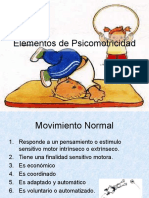 9.- Elementos de Psicomotricidad