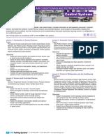 437 Control Systems Course Description