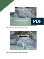 Aforamiento de Aguas y Descarte de Rocas