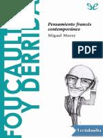 27 Foucault y Derrida - Miguel Morey