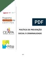 Portflio - Preveno Social Criminalidade 2017